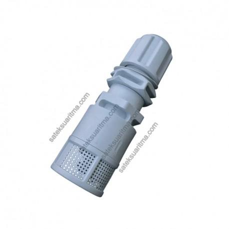 Dozaj Pompası Emiş Filtresi / Çekvalfi PVDF-T