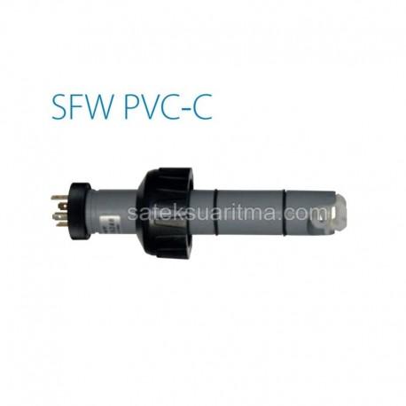 Çarklı Debi Sensörü C-PVC